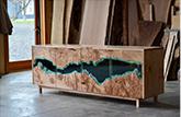 Handicraft hard resin